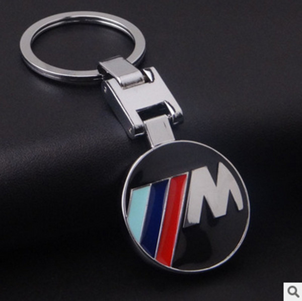 Fashion Zinc Alloy Metal Car Logo keychain creative new car keyring Car Keychain For BMW Key ring Holder Key Rings(China (Mainland))