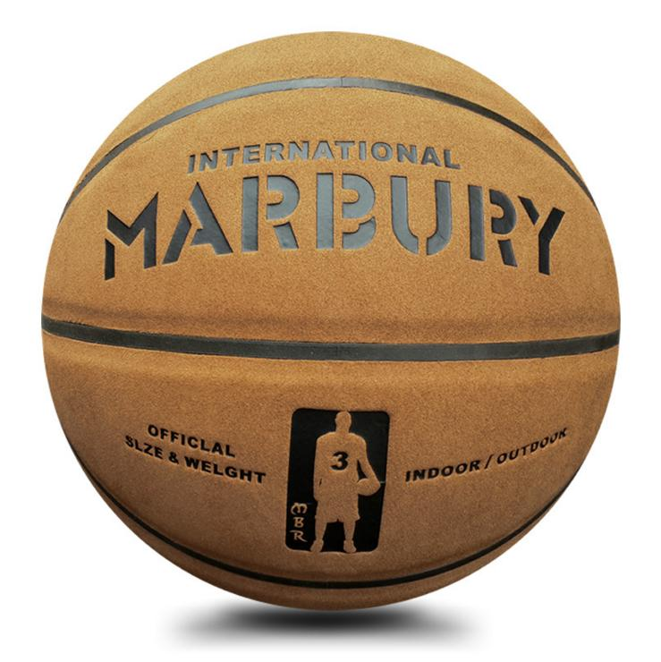 Cow Genuine Leather Basketball brand Marbury Training Ball American Official Outdoor Ball Size 7(China (Mainland))
