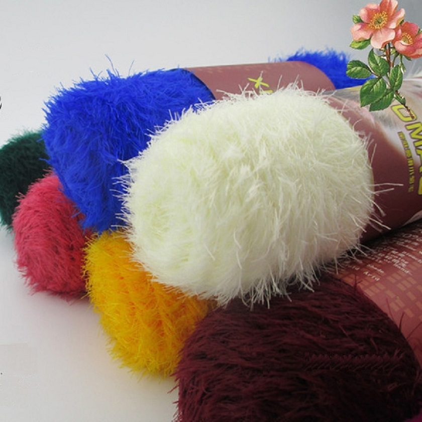 Mink Cashmere Yarn For Knitting Mink Baby Knitting Wool Hand Knitted ...