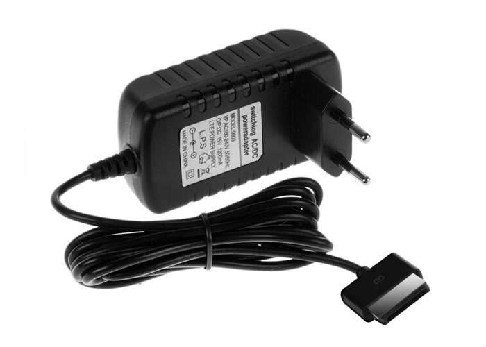 EU/US 15V 1.2A Charger Power Adapter Cable For Asus Eee Pad Transformer TF201 TF101 TF300 Tablet AC Wall Charger High Quality(China (Mainland))