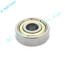 free shipping 10 Pcs 16mm x 8mm x 5mm Metal Shielded Deep Groove Ball Bearing 688ZZ