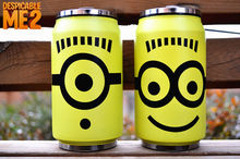 Free shipping 1pc new arrival Hot Anime despicable me minions 2styles Stainless steel cup fashion mug
