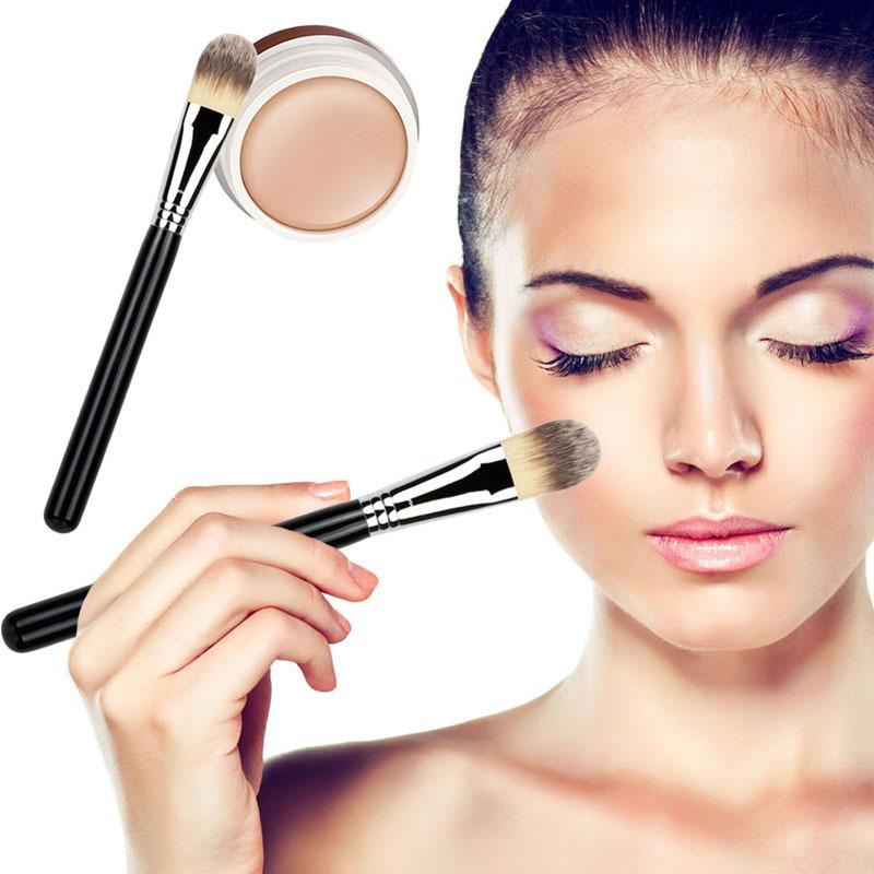 Гаджет  Hot Sale BB Cream Professional Naked Concealer + Silver Handle Brush Makeup Base Foundation Concealers Face Powder None Красота и здоровье