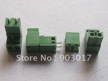 Type Green 2way/pin 5.08mm Screw Terminal Block Connector HOT Sale High Quality 60 Pcs Per Lot