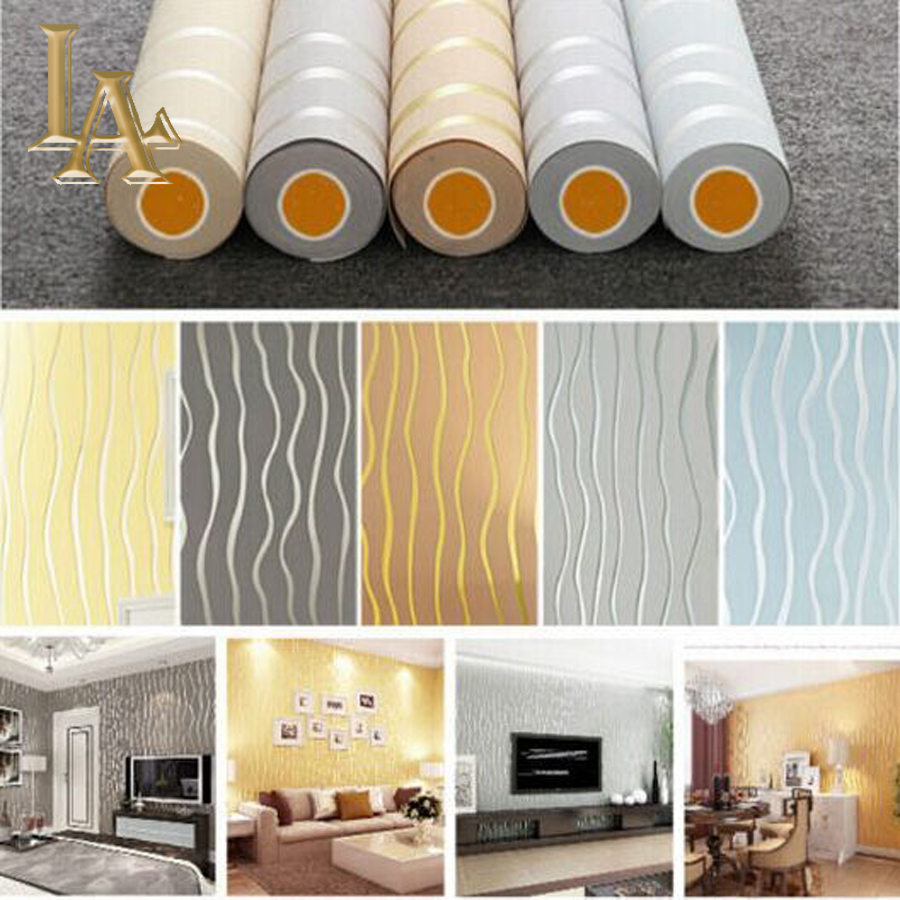 High quality beige striped wallpaper buy cheap beige striped ...