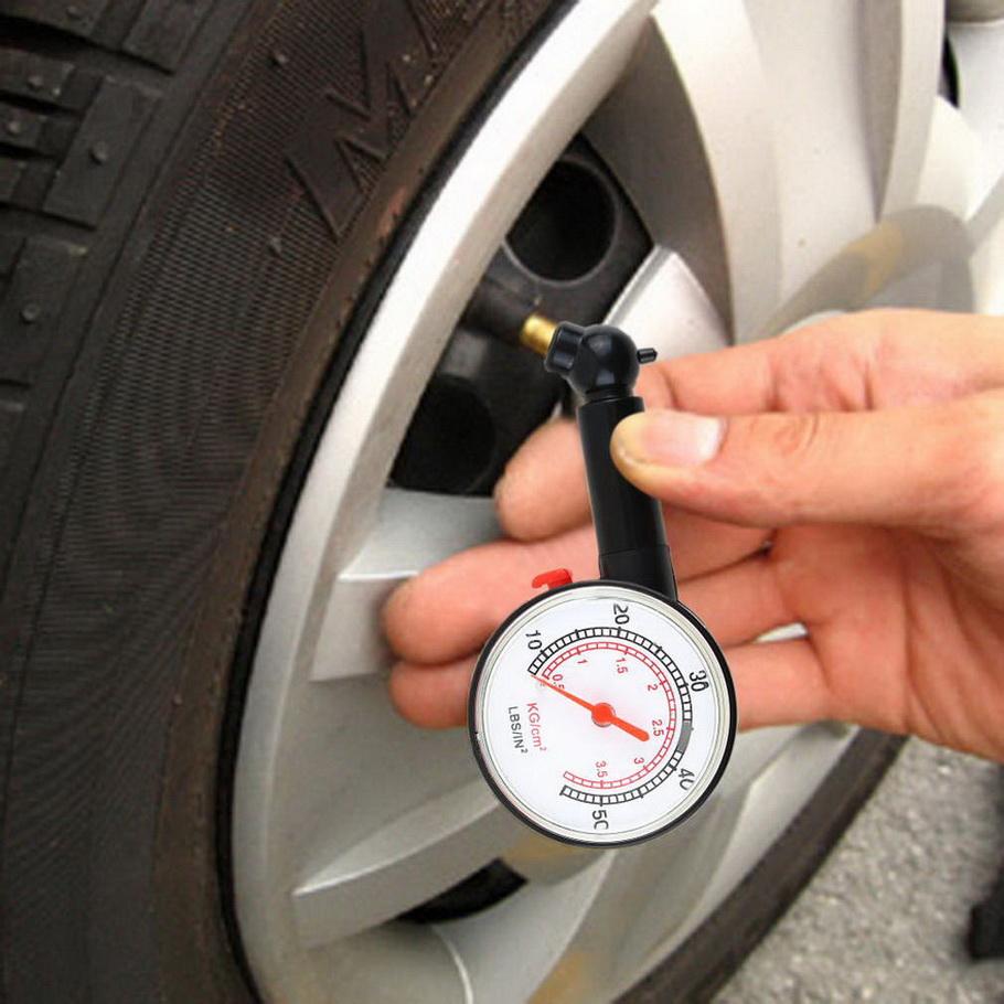 New Meter Tire Pressure Gauge Auto Car Bike Motor Tyre Air Pressure Gauge Meter Vehicle Tester