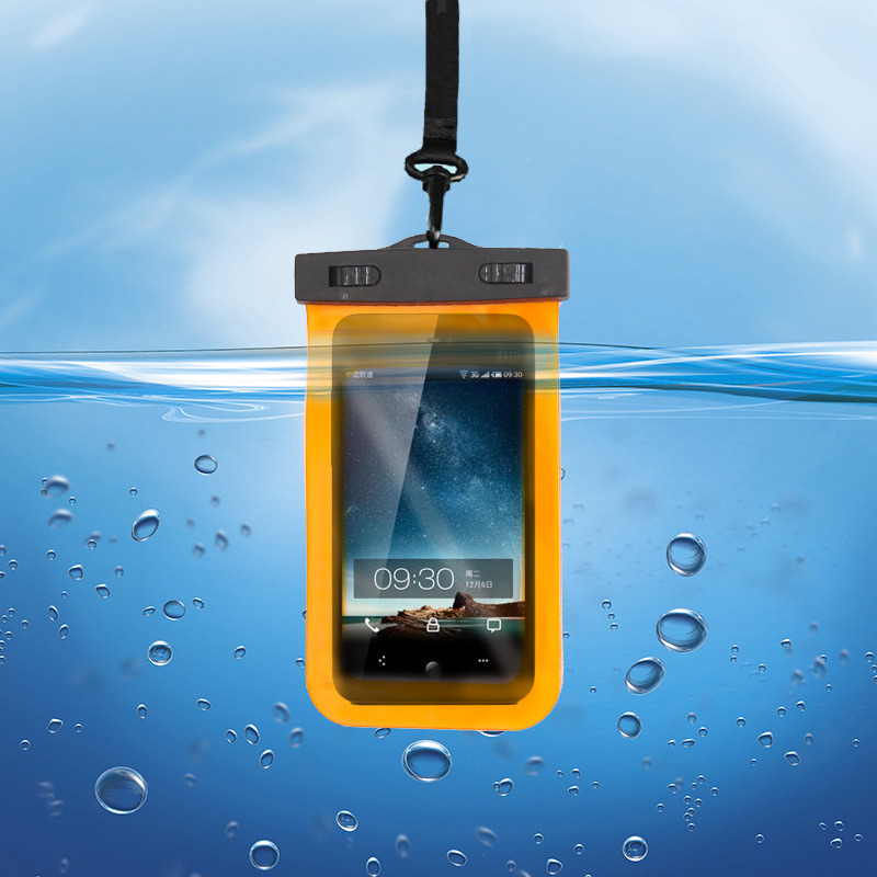 waterproof phone case for samsung S4 S5 s6 accessories Touch Phone Waterproof Bag Smartphone accessories for iphone 5S 6s 6 PLUS