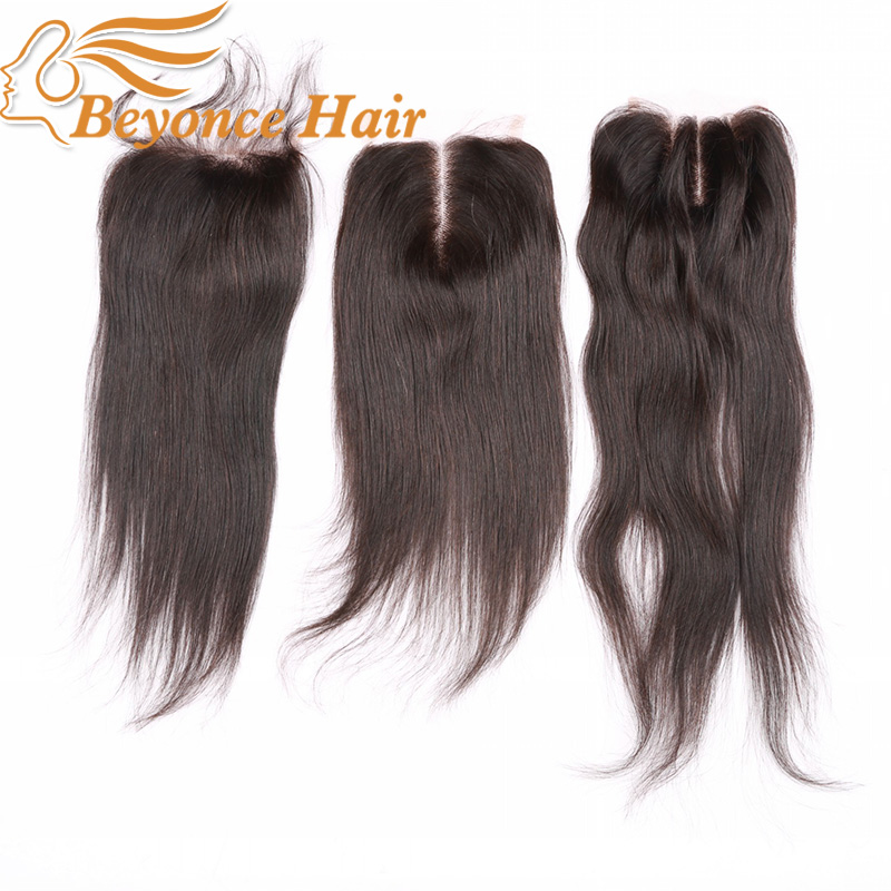 Гаджет  Cheap Brazilian Human Hair Closure With Baby Hair,4*4 Size Three/Middle/Free Part Virgin Hair Lace Closure with Bleached Knots None Волосы и аксессуары