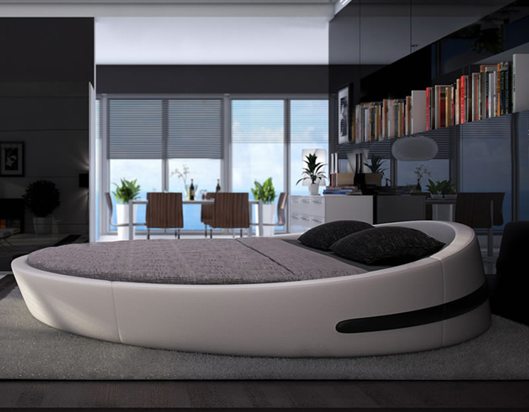 Circle Beds Part - 44: Check Out These 17 Contemporary Round Bed Frame Designs And Get Inspired  Now! | Mi Casa Es Su Casa | Pinterest | Bed Frame Design, Round Beds And Bed  Frames