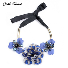 Buy 2016 New Acrylic Resin Flower Colors Long Silk Necklaces & Pendants Statement Necklace Maxi Vintage Collar Women Accessories for $4.82 in AliExpress store