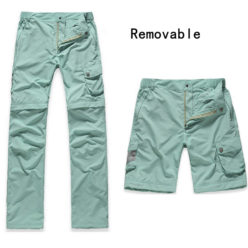 Plus Size 2016 New Women Outdoor Sport Quick Dry Pants UV Protection Hiking Camping Pants Breathable Casual Fishing Trousers