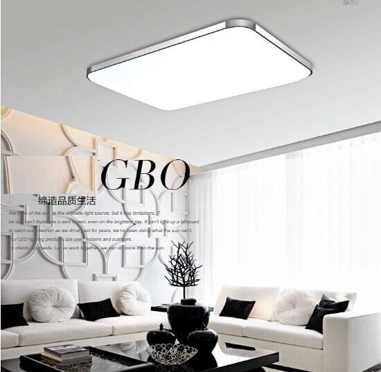 New Ceiling light indoor lighting led luminaria abajur 24W modern led ceiling light for living room lamps for home Fast shipping(China (Mainland))