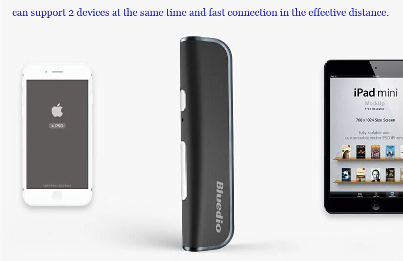 100% Original Brand New Bluedio i6 Sports Bluetooth Stereo Headset Clip On Design Bluetooth Headset Earphone