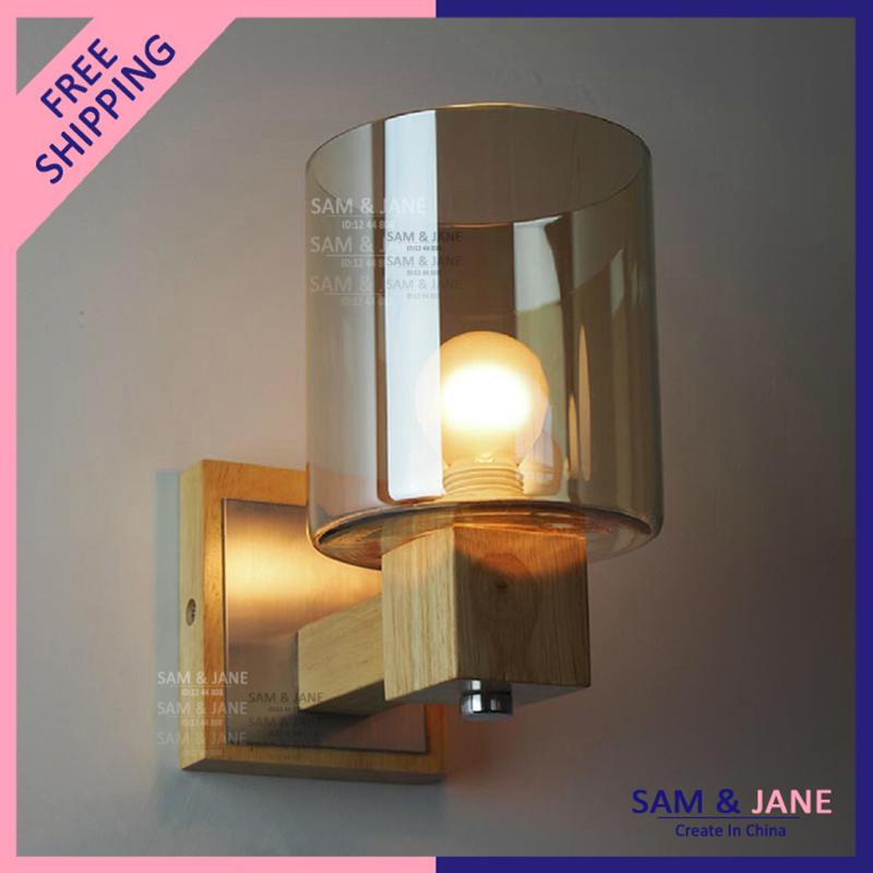 Modern Cottage Wall Lights : Aliexpress.com : Buy Modern Wall Lamp Cottage Wood Wall Light Fixture Dining Room Wall Sconce ...
