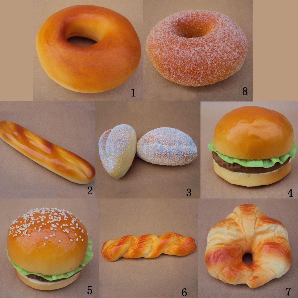 Artificial Realistic Bread Food Imitation Kitchen Pretend: realistic play kitchen