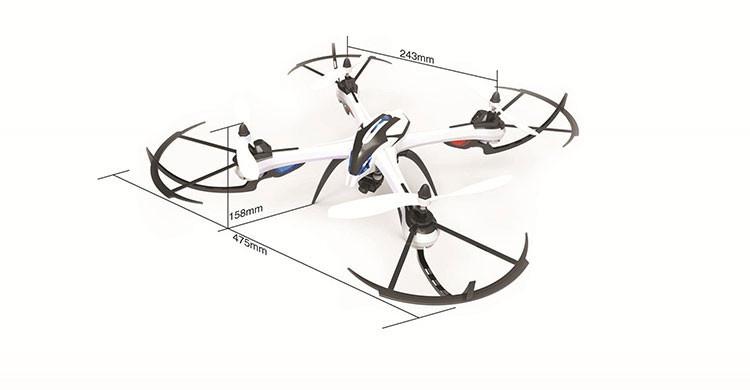 yizhan jjrc tarantula x6 drone bnf version 2 4g 4ch 6