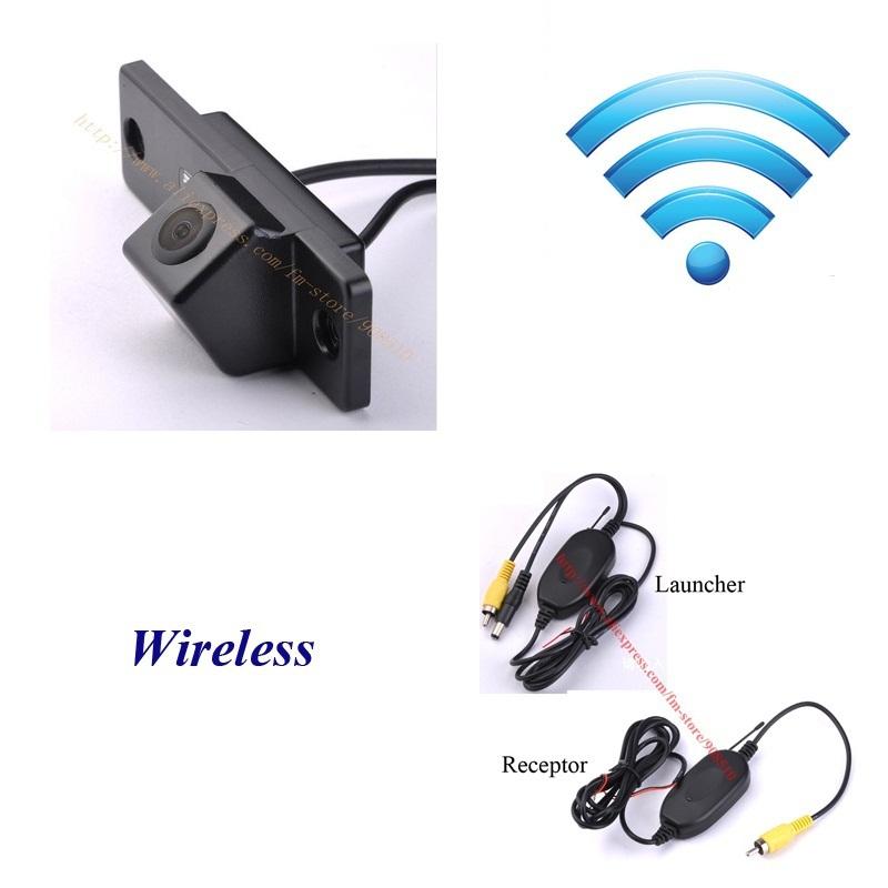 DIY waterproof brilliance fsv wireless/no wire wifi car/auto/vehicle backup rear view/rearview reverse camera/camara/kamera(China (Mainland))