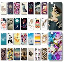 For Iphone 5 5s 1pcs Hot Sale New Arrive personality fantasy Animal Series pictures back cover case  Promotion Painted
