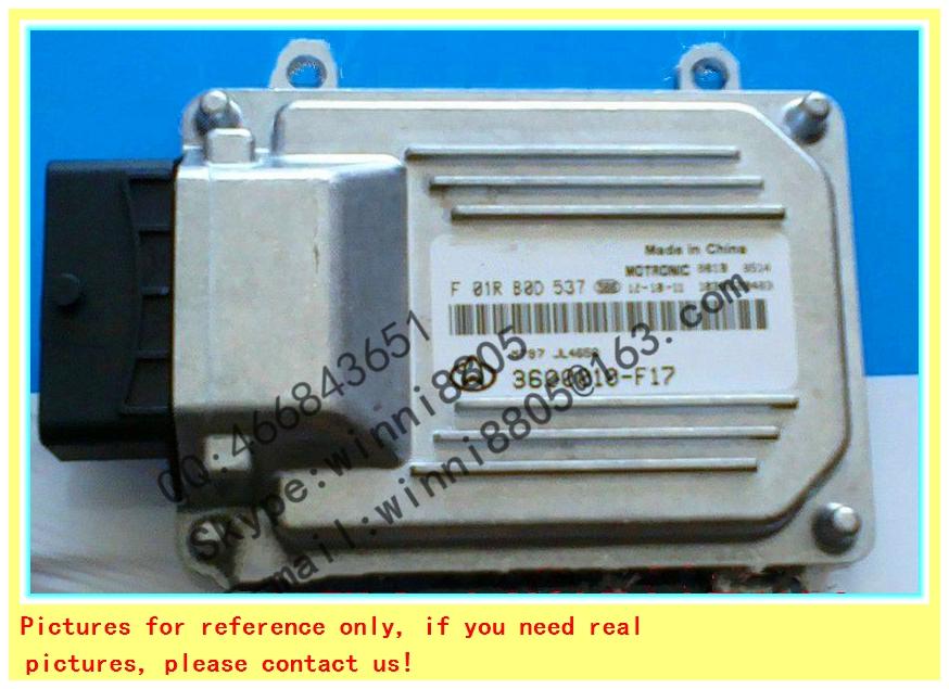 F01R00D537/3600010-F17/465Q/For BOSCH M7 system ECU(Electronic Control Unit)/ Changan Star car engine computer board(China (Mainland))