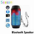 Electronic Audio Bluetooth Speaker LED lights Pulse Portable Wireless LED Support NFC Colorful 360 TF Card