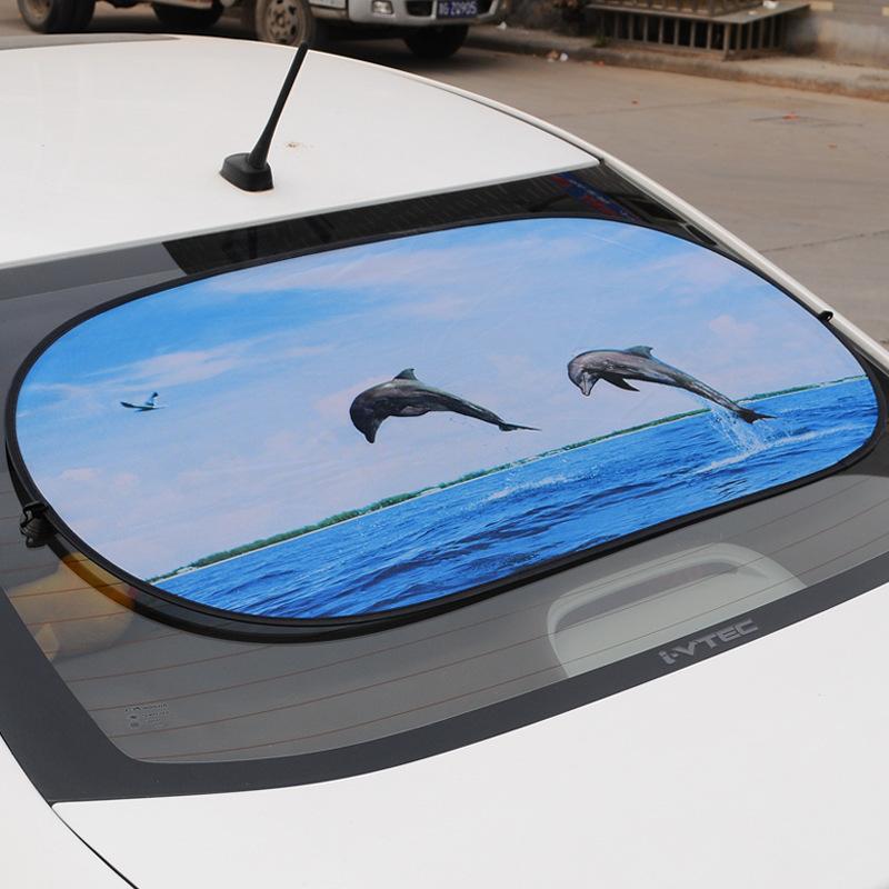 Защита от солнца для заднего стекла авто Mlou 100 * 50
