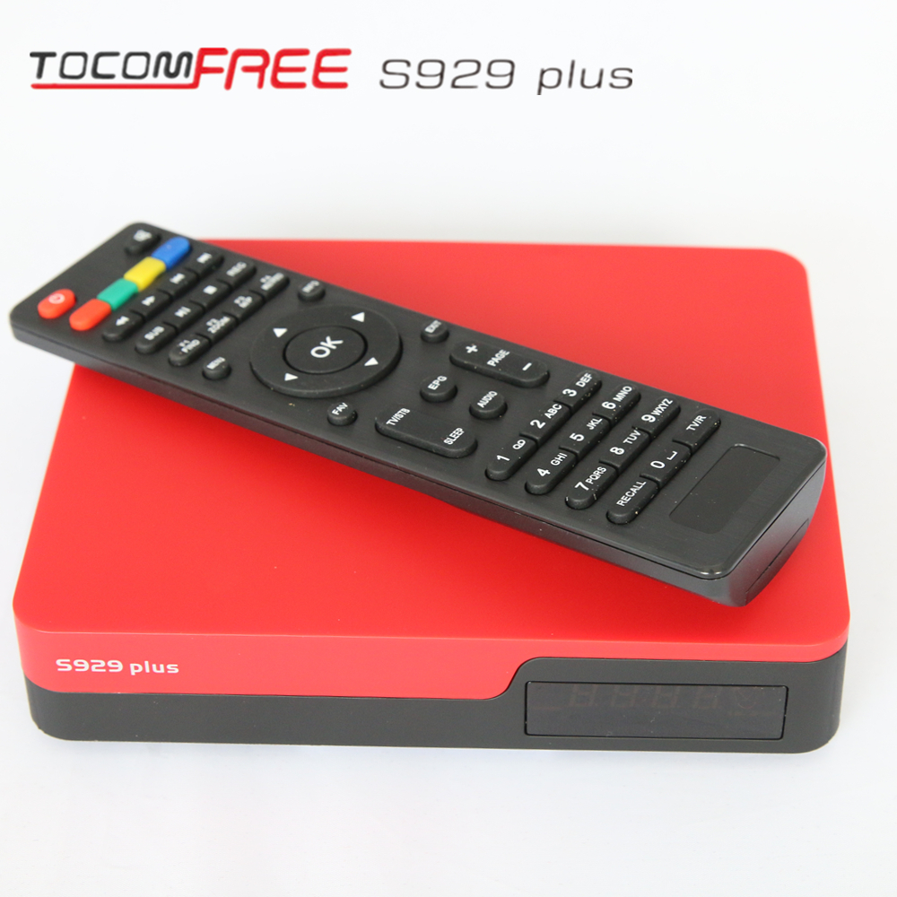 DVB-S2 satellite receiver tocomfree S929 plus digital tv antenna made in china shenzhen for Peru(China (Mainland))