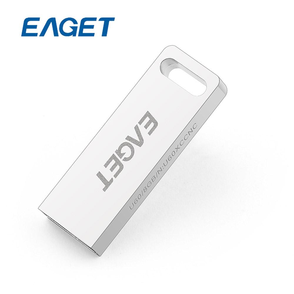US STOCK EAGET U60 USB 3.0 100% 64GB USB Flash Drives MINI Metal Waterproof Gift High Speed USB 3.0 Pen Drive Free shipping(China (Mainland))