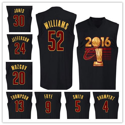 Men's T shirts 2016 Finals Champions Locker Room Kevin Kyrie Irving Love James T-shirts tank top jersey Black size S-XXXL(China (Mainland))