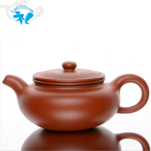 Free Shipping Yixing purple clay teapot antique red mud pots genuine handmade ore Tea Hi Quality