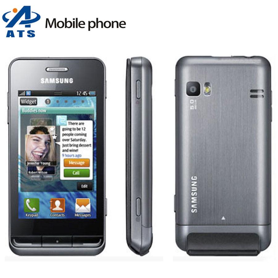 S7230 Original Samsung S7230E Wave 723 S7230 Mobile Phone WiFi GPS 5MP Camera Free Shipping(China (Mainland))