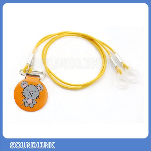 soundlink nieuwe 12 chinese dier kleurrijke clips voor kinderen bte achter het oor hoortoestel houder(China (Mainland))