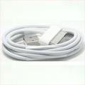 For Apple iPhone 4 4S Charging Cable 1Meter USB Sync Data Charging Charger Cable Cord White