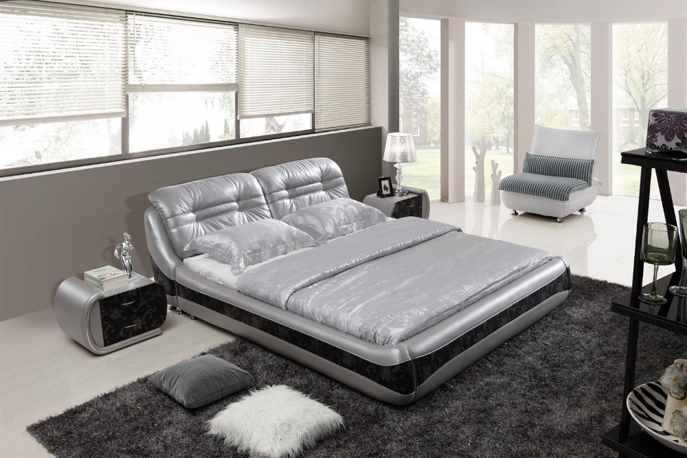 Popular best bed designs buy cheap best bed designs lots for Double bed new design