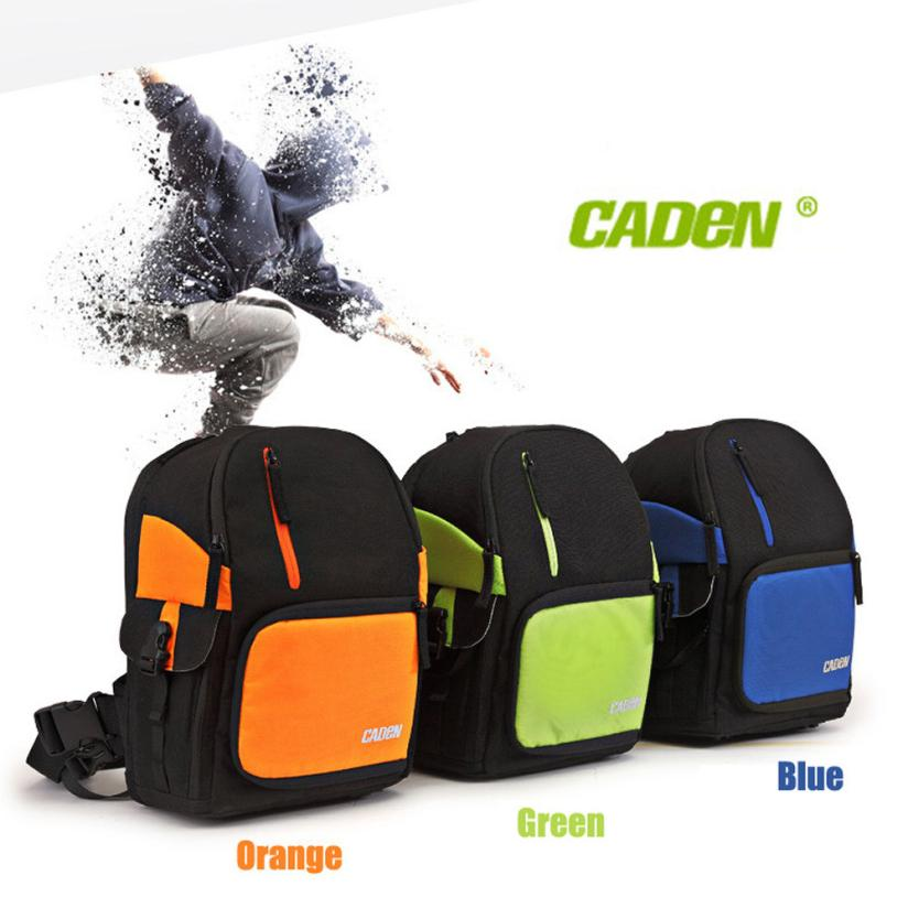 Top Quality 1PC CADEN D5 Travel Shoulder Messenger Bag Waterproof Camera Carry Case for Canon DSLR SLR for Nikon Sony S30