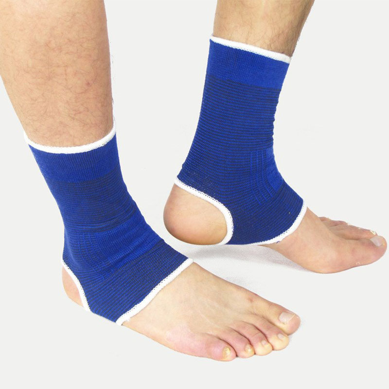 1 Pair Nylon Ankle Support Football Basketball Badminton Running Sports Foot Ankle Support Protector Brace Guard Sports Safety(China (Mainland))