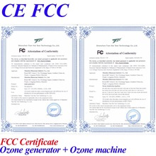 CE FCC ozone machine