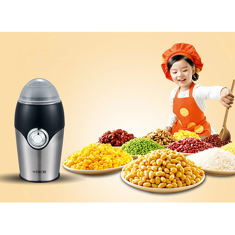 Free shipping new Stainless Steel Portable electric Coffee/Nut/Grain Mill Grinder for household and office<br><br>Aliexpress