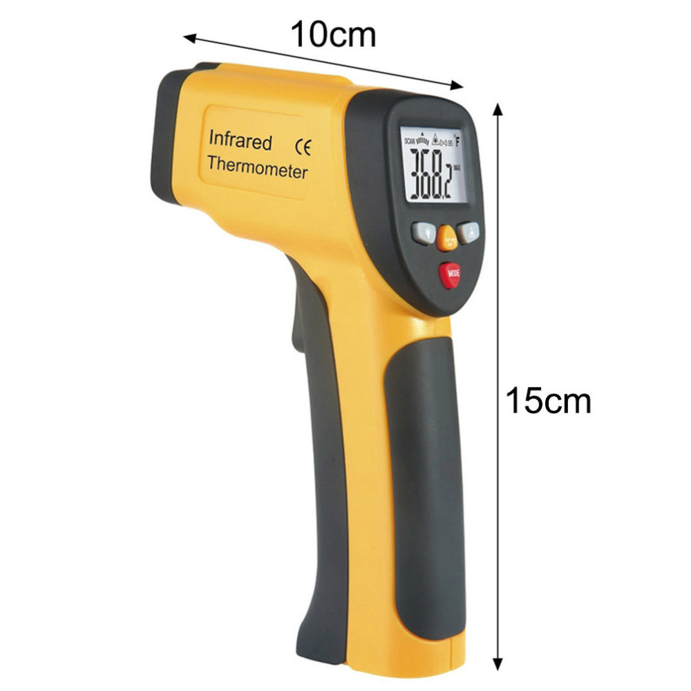 2016 Sizzling Sale LCD Show IR Infrared Thermometer -50 To 650 Diploma Celsius Auto Temperature Meter Sensor HT-816 Handheld