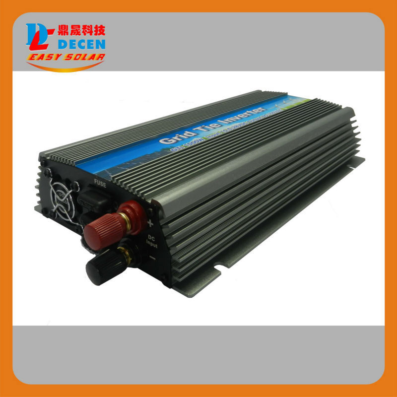DECEN@ 20-45V 1000W Solar High Frequency Pure Sine MPPT Wave Grid Tie Inverter, Output 90-140V.50hz/60hz, For Alternative Energy<br>