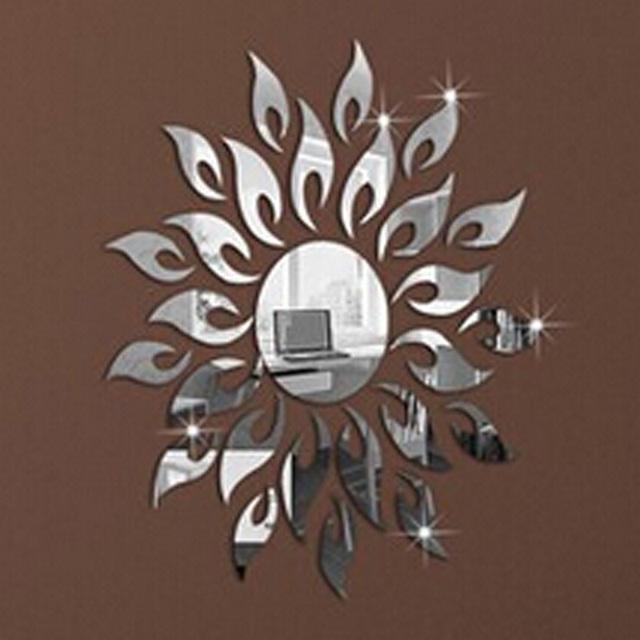 acheter 1 conjunto livraison gratuite bricolage miroir mural de d coration. Black Bedroom Furniture Sets. Home Design Ideas