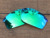 Emerald Green Mirror Polarized Replacement Lenses For Bottlecap Sunglasses Frame 100% UVA & UVB Protection