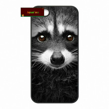 Yago Portal Raccoon Art Print Cover case for iphone 4 4s 5 5s 5c 6 6s plus samsung galaxy S3 S4 mini S5 S6 Note 2 3 4 zw0344(China (Mainland))