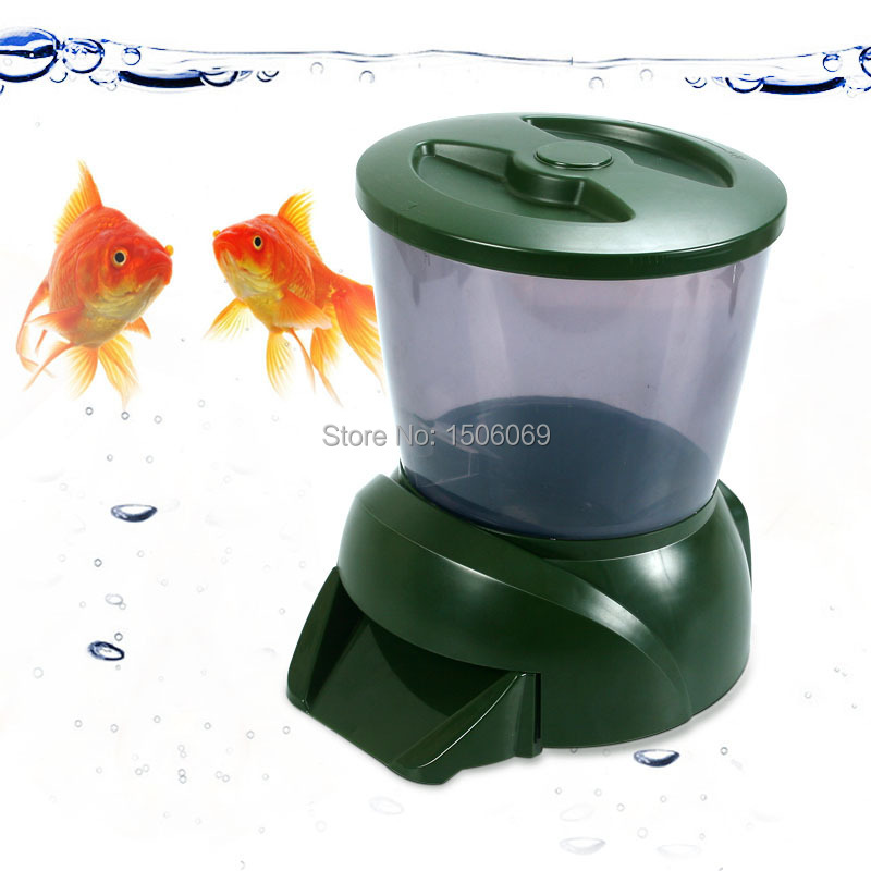 Feed for fish automatic fish feeder fish food tetra for Food for fish at home