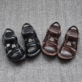 2016 Summer Leather Boys Sandals Kids Shoes Boy Sandalen Kids Sandals Kids Baby Sandals Sandalet Children