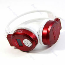 Player Sport MP3 LCD Foldable Wireless Headphone Headset FM Radio TF Card(China (Mainland))
