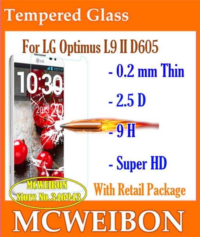 Защитная пленка для мобильных телефонов pantalla Lcd LG Optimus L9 II D605,