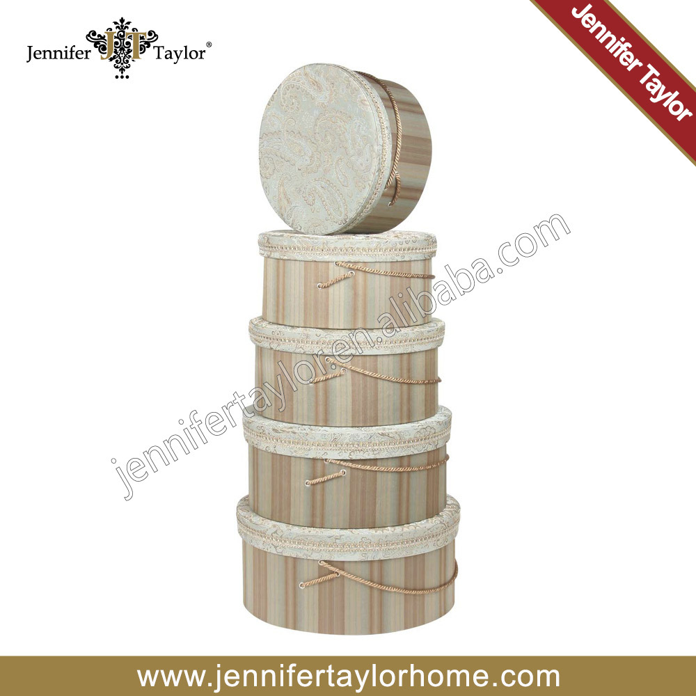 Jennifer Taylor Home Storage Fabric Hat Boxes 3128-593595(China (Mainland))