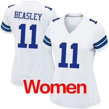 cheap Women's #4 Dak Prescott #21 Ezekiel Elliott #50 Sean Lee 88 Dez Bryant 82 Jason Witten #9 Romo Light Game Free shipping(China (Mainland))