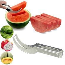 2016 hot sales Watermelon cutter knife Cucumis melon Cutter Chopper Fruit Salad Cucumber Vegetable fruit slicers  gadgets(China (Mainland))