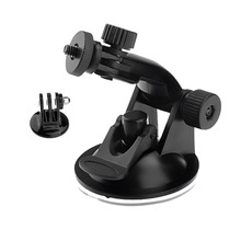Gopro SJ4000 Accessories Car Sucker Holder Mount Suction Cup for Go Pro Hero 4 3 2 1 SJ5000 Mini Camcorder Action Camera DVR